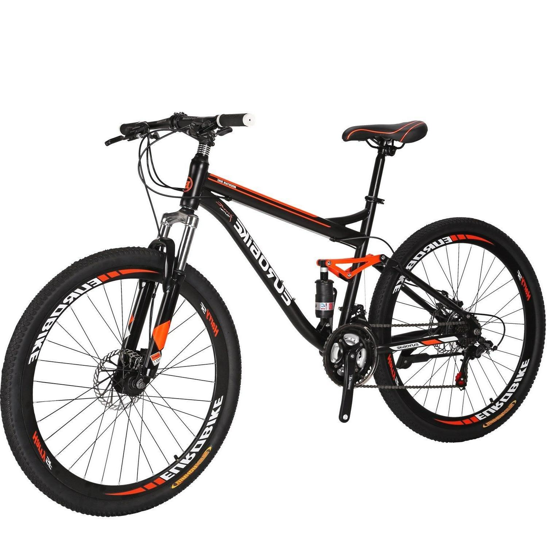 """27.5"""" Full Suspension Bike 21 Speed Men's Bikes"""