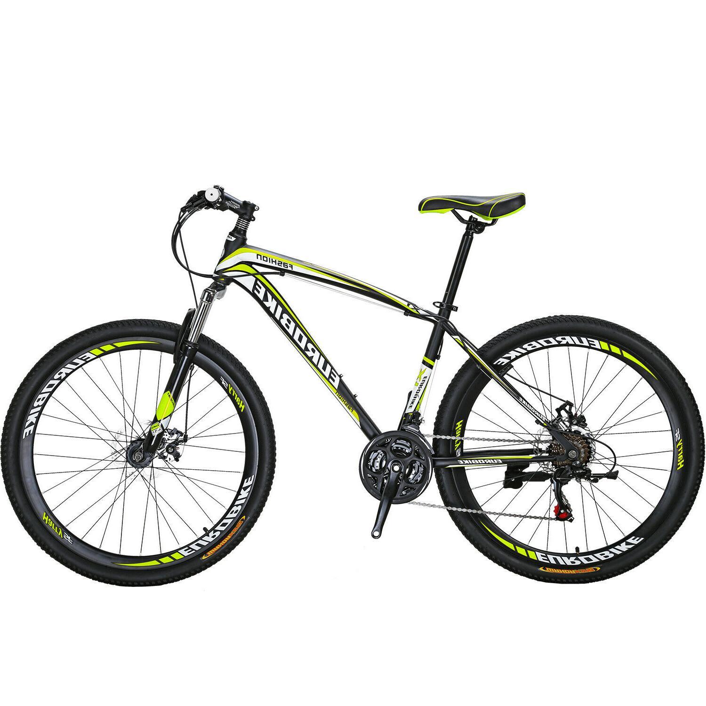 Bike 21 Speed MTB Bicycle Suspension Bicycle