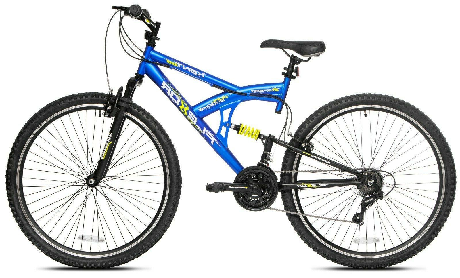 Kent Flexor Dual Suspension Mountain Bike Bicycle