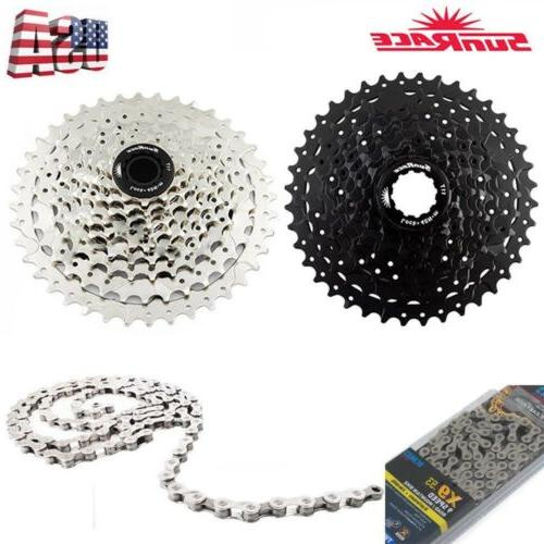 9speed 11 40t cycling cassette 9s mtb