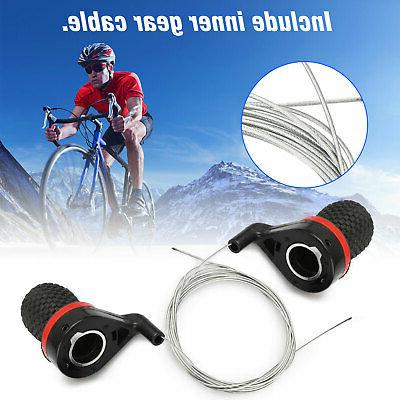 Bicycle Levers Bike Handle Gear Shifter Set