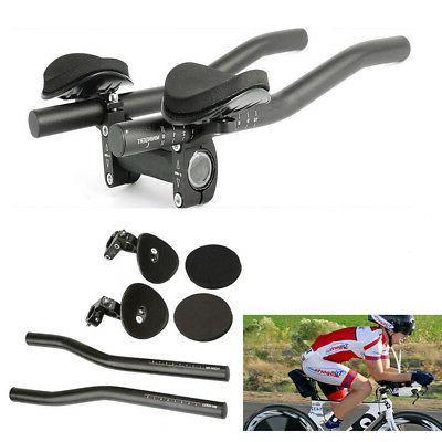 Bike Road Mountain Bicycle Aluminum Alloy Handlebar Arm Rest Clip Black