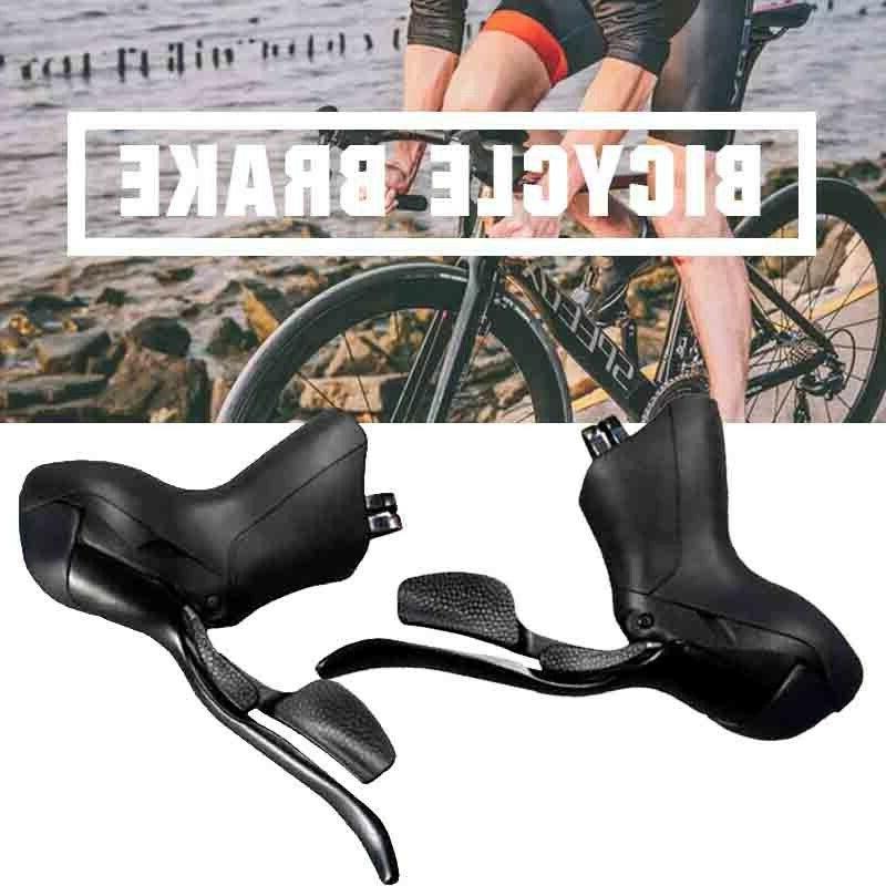 black road bike shift shifter drop bar
