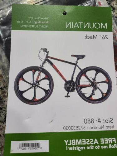 Mongoose 26-inch