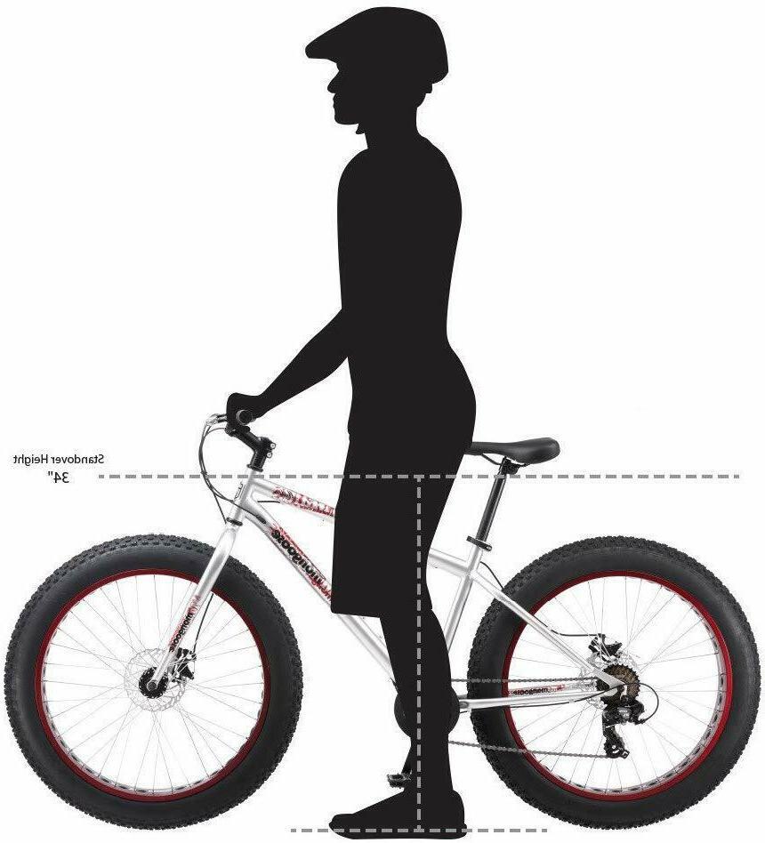 Mongoose Fat Mountain 26 Wheels Steel Frame Disc Brake