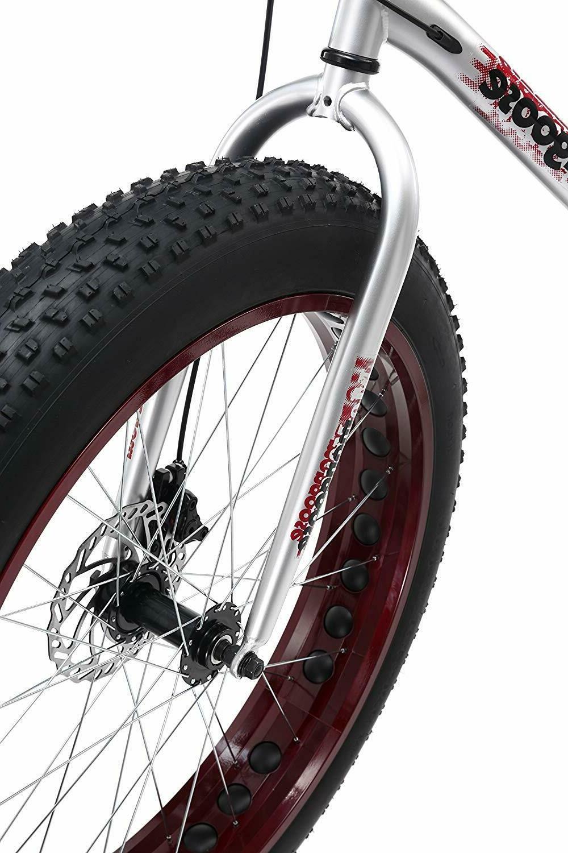 Mongoose Fat Mountain Bicycle Steel Frame Speed Disc Brake