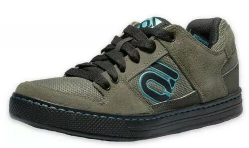 freerider earth green mountain bike shoes size