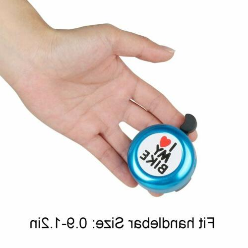I Bicycle Bell Bike Horn for Adults Kids Bike Accessories