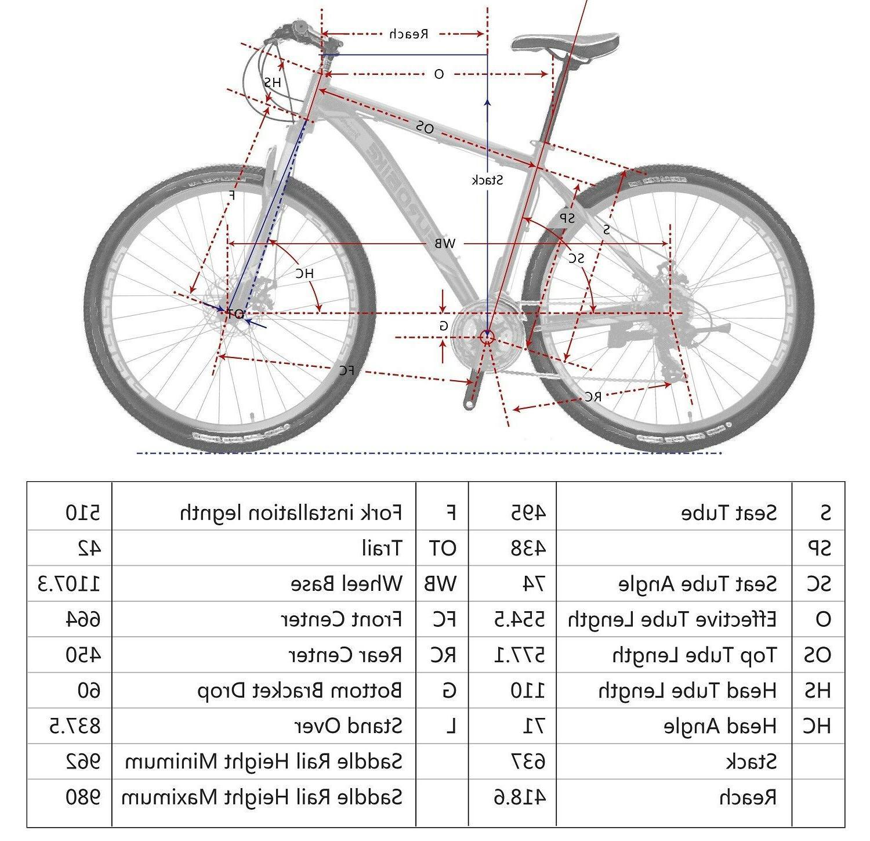 Aluminium bike Mag wheels Speed MTB