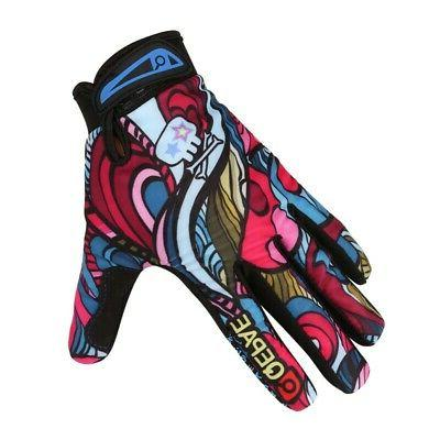Men Mountain Bike Bicycle Breathable Riding Gloves Full Fing