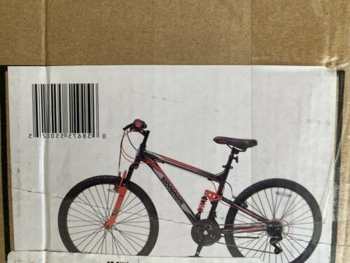 """Mongoose Men's Status 2.2 26"""" Mountain Bike"""