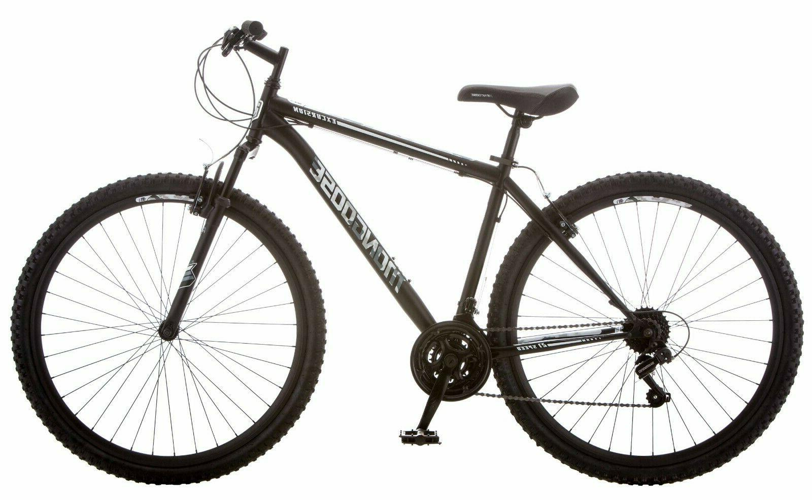Mens Mountain Bike 21 Speed Road Tires Bicycle