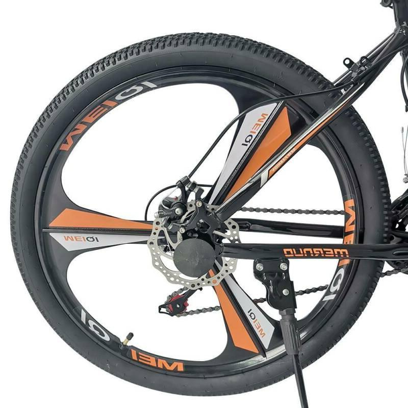 Mountain Bicycle 21-Speed Wheels Bikes Orange