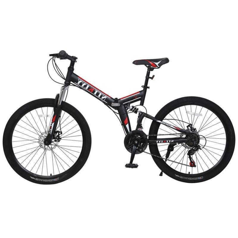 mountain bike full suspension shimano 21 speed