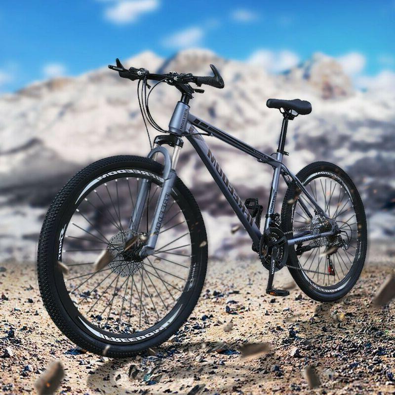 """26"""" Full Suspension Mountain Bike Shimano 21 Speed Men's Bik"""