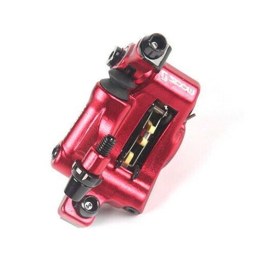 Brakes Hydraulic push Calipers Mechanical set