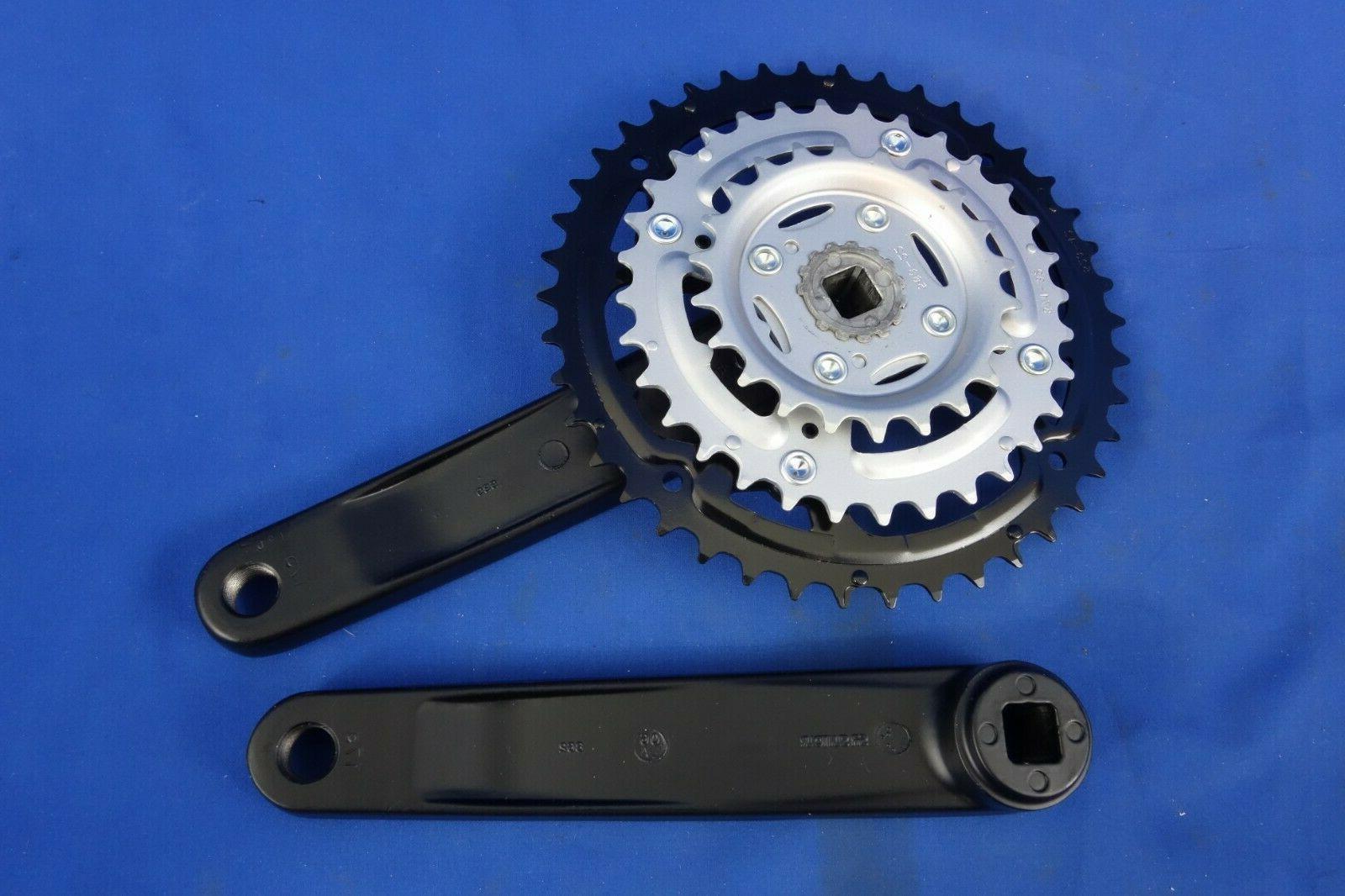 New SunTour Mtn Bike Crank, Crankset Square Drive -