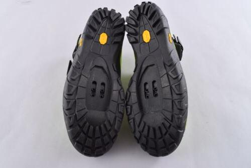 Giro Terraduro Clipless Cycling Shoes EU45 Lime/Black Bolt Cleat