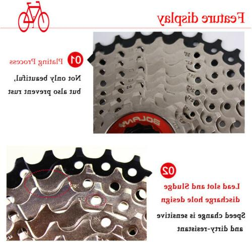BOLANY 9 10 11Speed Cassette 40/42/46/50T Sprocket Chains