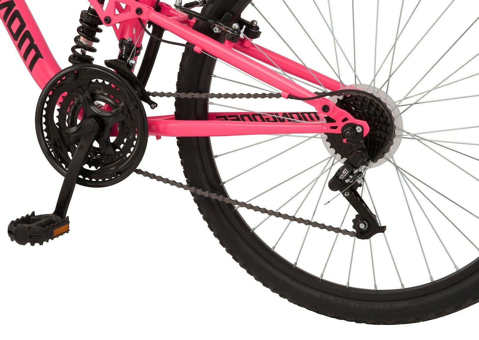 "Women's 26"" Mountain Pro Bike 21-Speed Bicycle, Fast!"