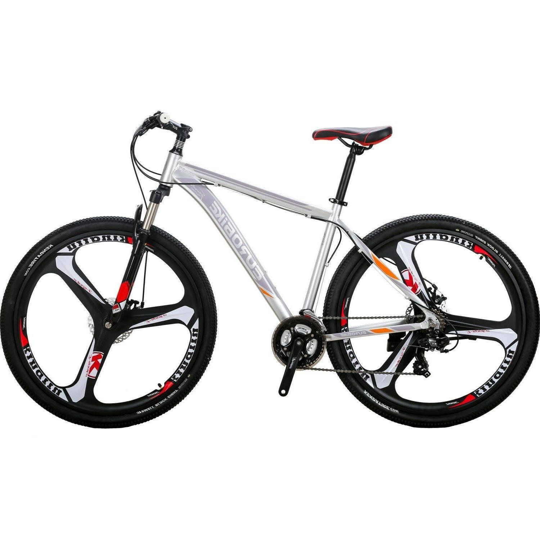 "29"" Aluminium Bike Disc Brakes Mens Bikes 21 Speed 29er XL"