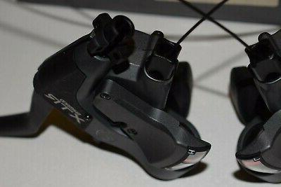 3x8 speed Brake lever Set v-brake combo Nib