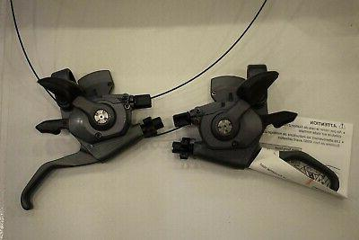 Shimano 3x8 speed Shifter Brake lever Set Nib