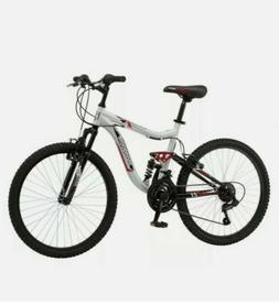 Mongoose Ledge 2.1 Mountain Bike, 24-inch wheels, 21 speeds,