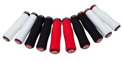 SRAM Locking Foam Contour Grips with Single Red Clamp and En