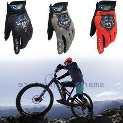 Men Ladies Cycling Bicycle Mountain Bike Gloves Cycle Full F