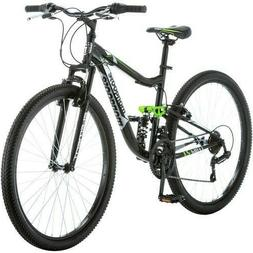 "Men's Mountain Bike 27.5"" Dual Suspension 21-Speed Trail Rid"