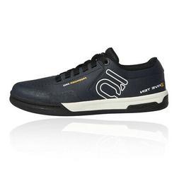 mens freerider pro mountain bike shoes navy