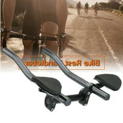 Mountain Bike Bicycle Alloy Triathlon Aero Rest Handle Bar C