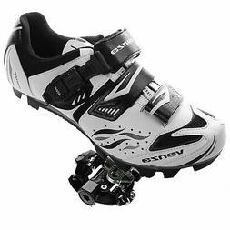 Venzo Mountain Bike Bicycle Cycling Shimano SPD Shoes + Seal