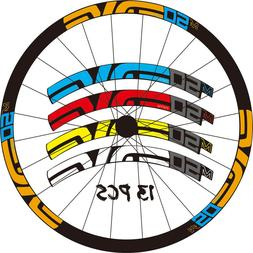 Mountain Bike bicycle wheel rim stickers for M50 cycling rac