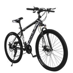 26 Inch Mountain Bike 21 Speed Dual Disc Brakes Full Suspens