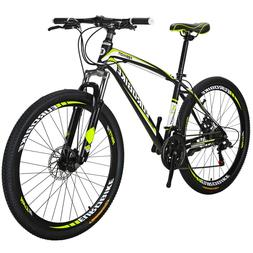 mountain bike front suspension shimano 21 speed