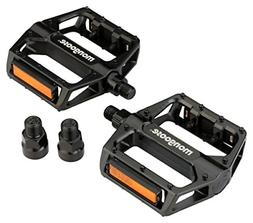 "Mongoose Mountain BMX Aluminum Bike Pedals With 9/16"" & 1/2"""