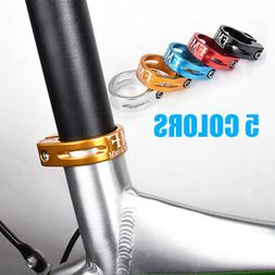 Mountain Bike Seat Post Clamp Collar Lock Bicycle Components