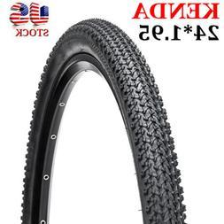 "KENDA Mountain Bike Tires 26×1.75"" Non-Slip Clincher Durabl"