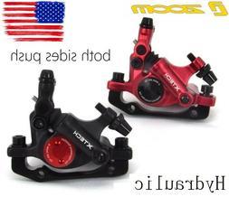 mtb xc bike disc brakes hydraulic push