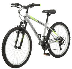 "NEW Roadmaster 24"" Granite Peak Boys 18 Speed Mountain Bike"