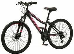 🔥NEW Female Mongoose Excursion Mountain Bike 24 Inch Whee