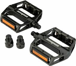 """New Mountain & BMX Mongoose Bike Pedals - Fit 9/16"""" & 1/2"""" P"""