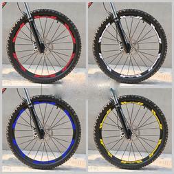 New Mountain Bike Wheel Set Rim Stickers For XT 776 MTB Cycl