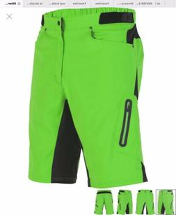 New NWT Zoic Ether Men's Large Green Mountain Bike Cycling S