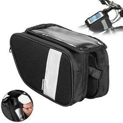 Outdoor Mountain Bike Bicycle Pouch Cycling Frame Front Top