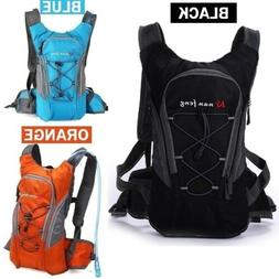 Outdoor sports backpack mountain bike hydration bag canvas w