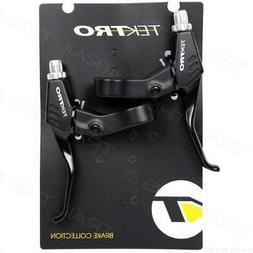 Tektro Pair Black V Brake Levers Left& Right Front& Rear MTB