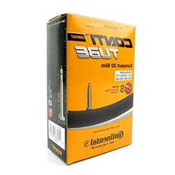 Continental 42mm Presta Valve Tube, Black, 700 x 20-25c